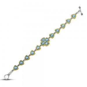 Bracelet with Swarovski crystals B104