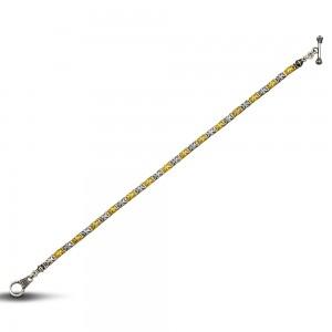 Bicolor bracelet B95