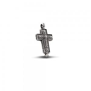 Locket sterling silver cross C187