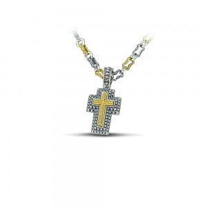 Sterling silver cross- C247-1