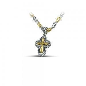 Sterling silver cross C248-1