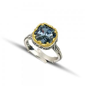 Ring with Swarovski crystal D216