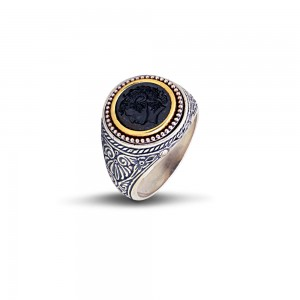 Ring with Alexander the Great D37