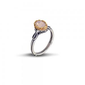 Ring with Swarovski crystal D46