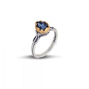 Ring with Swarovski crystal D48