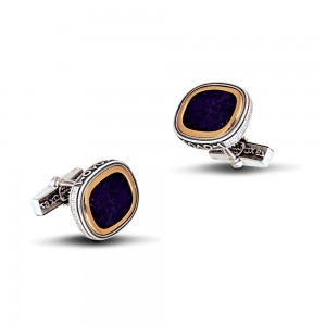 Cufflinks with Lapis Lazuli MA78