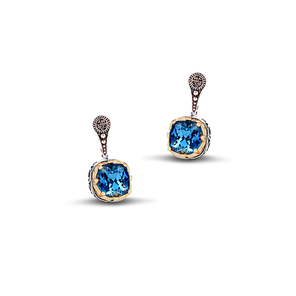 Earrings with Swarovski crystals S170