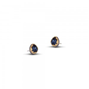 Post earrings with Swarovski crystals S48