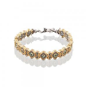 Bracelet with Swarovski crystals B336