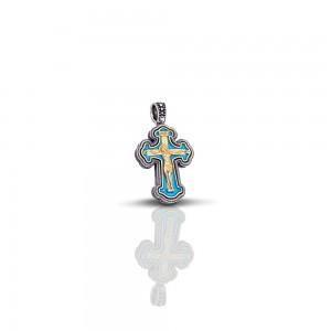 Cross with enamel C10