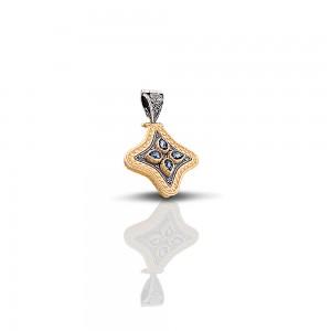 Pendant with Swarovski crystals M244