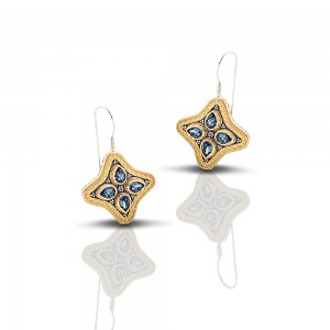 Earrings with Swarovski crystals S214