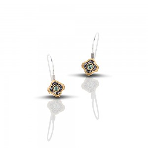 Earrings with Swarovski crystals S215